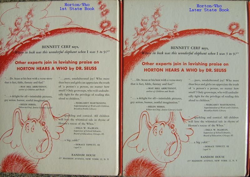 Dr. Seuss First Edition