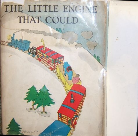 The Little Engine That Could Dust Jacket