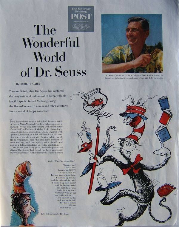 First Edition Dr. Seuss Books