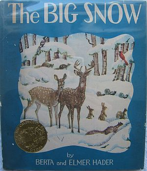 First Edition Caldecott Medal