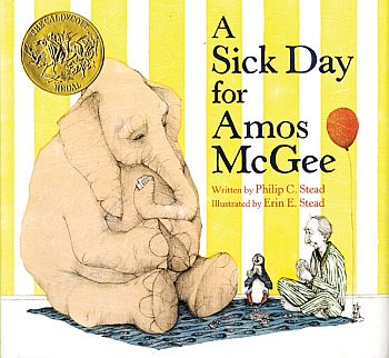 Caldecott Medal Winner A Sick Day For Amos McGee