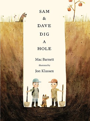 Sam & Dave Dig A Hole First Edition Caldecott Medal