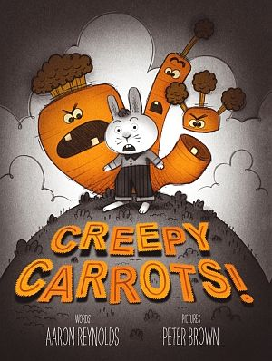 Creepy Carrots First Edition Caldecott Medal