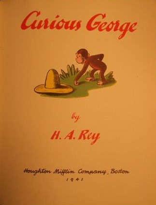 First Edition Curious George