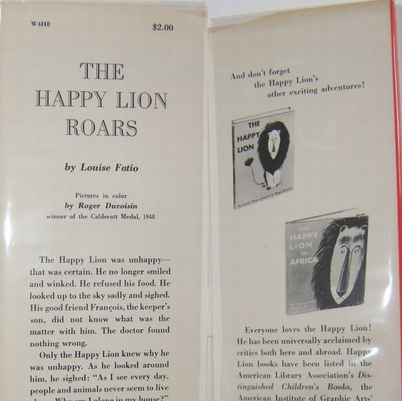 The Happy Lion Roars First Edition Points of Issue
