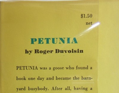 Petunia Points of Issue