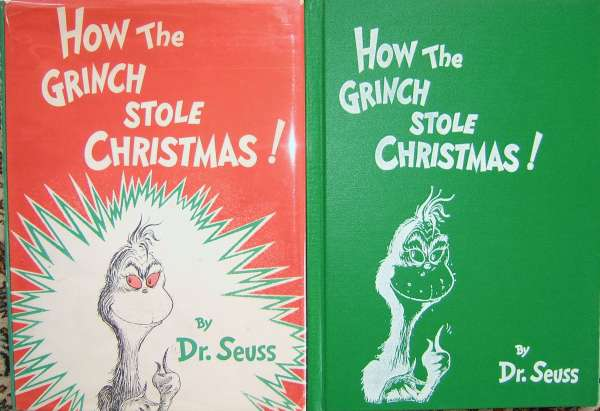 The Grinch Who Stole Christmas Book.Guild Edition How The Grinch Stole Christmas 1957