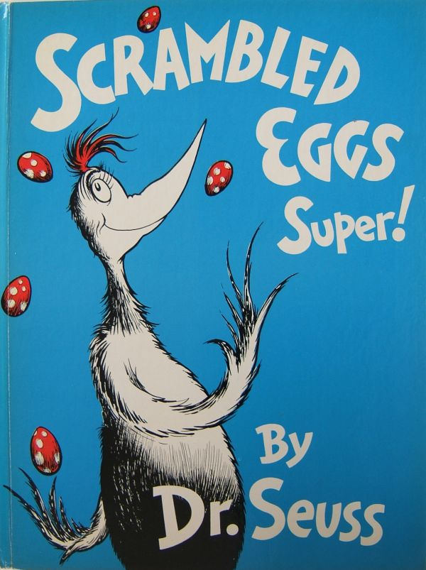 Dr. Seuss First Edition Identification Scrambled Eggs Super