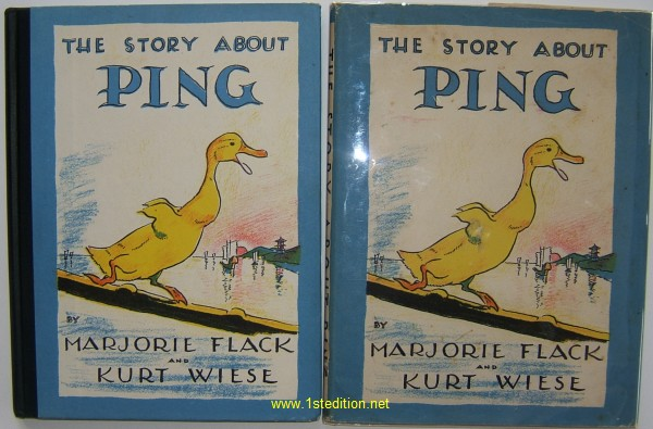 Marjorie Flack Kurt Wiese The Story About Ping