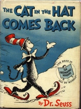Cat In The Hat First Edition Book