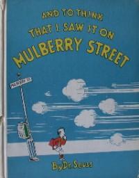 Dr. Seuss First Edition Book